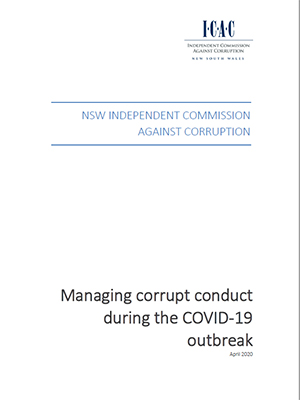 cover of the CP Covid-19 advice report
