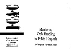 Monitoring cash handling in public hospitals cover