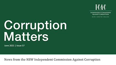 latest corruption matters newsletter